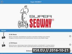 Miniaturka domeny www.supersegway.pl