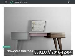 Miniaturka domeny www.superwnetrza.pl