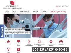 Miniaturka domeny www.supradent.com.pl