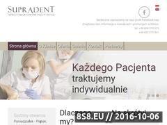 Miniaturka domeny supradent.pl