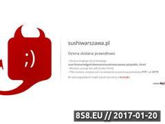 Miniaturka domeny sushiwarszawa.pl