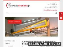 Miniaturka domeny suwnicabramowa.pl