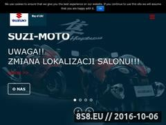Miniaturka domeny www.suzi-moto.pl