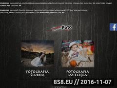 Miniaturka Strona zawiera fotografię ślubną i dziecięcą (sweet-foto.pl)