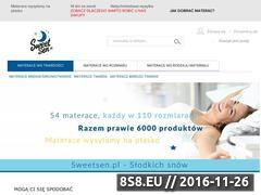 Miniaturka Materace niestandardowe (www.sweetsen.pl)