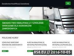 Miniaturka domeny swiadectwokwalifikacjizawodowej.pl