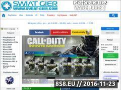 Miniaturka domeny swiat-gier.com