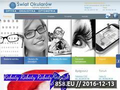 Miniaturka domeny www.swiat-okularow.com.pl