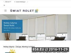 Miniaturka domeny swiat-rolet.pl