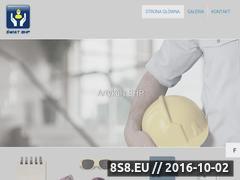 Miniaturka Strona z artykułami BHP (swiatbhp.com.pl)
