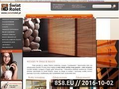 Miniaturka domeny www.swiatrolet.pl