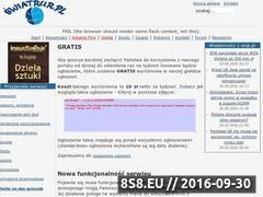 Miniaturka domeny www.swiatrur.pl