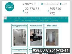 Miniaturka domeny www.swiatszkla.com.pl