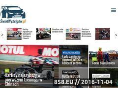 Miniaturka www.swiatwyscigow.pl (Świat Wyścigów!)