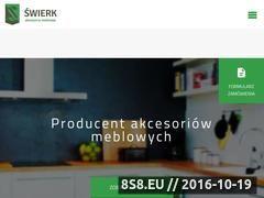Miniaturka domeny www.swierk-am.eu