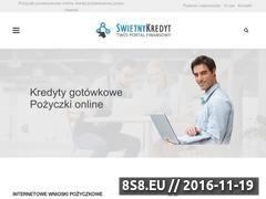 Miniaturka Pożyczki pozabankowe online, kredyty oraz chwilówki (www.swietnykredyt.pl)