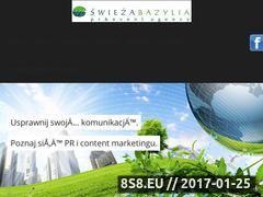 Miniaturka domeny www.swiezabazylia.pl