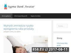 Miniaturka domeny www.sygma-bank-awatar.pl