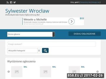 Zrzut strony Sylwester Wrocław - Bale Sylwestrowe