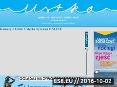 Miniaturka www.syrenka.ustka.pl (Ustecka Syrenka na żywo)