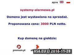 Miniaturka domeny www.systemy-alarmowe.pl