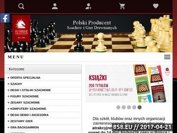Zrzut strony Figury szachowe