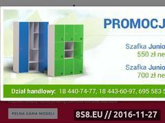 Miniaturka domeny szafki-szkolne.com.pl