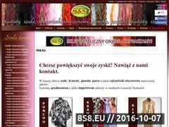Miniaturka domeny www.szale-krawaty.swiata.pl