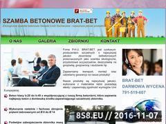 Miniaturka domeny szambabetonowe-brat-bet.pl