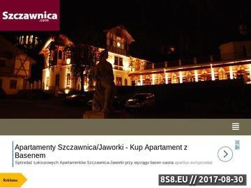 Zrzut strony Uzdrowisko Szczawnica