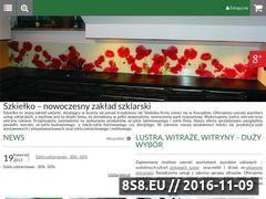 Miniaturka domeny www.szkielko.com.pl