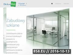 Miniaturka domeny www.szklane.dekormat.pl