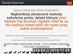 Miniaturka domeny szkola-doberman.pl