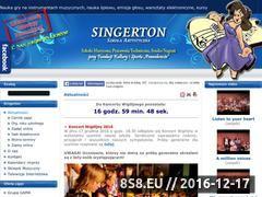 Miniaturka domeny szkola.singerton.pl