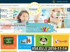 Miniaturka szkolaeuropejczyk.pl (Anglojęzyczna szkoła Europejczyk i szkoła)