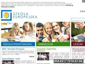 Zrzut strony Prywatne gimnazjum Łódź