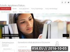 Miniaturka Kursy językowe, kursy angielskiego i niemieckiego (szkolafokus.pl)