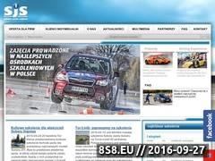Miniaturka szkolajazdysubaru.pl (Szkolenia bezpiecznej jazdy)