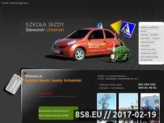 Miniaturka domeny www.szkolajazdyurbanski.pl