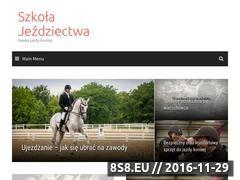 Miniaturka domeny szkolajezdziectwa.pl