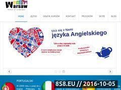 Miniaturka szkolajezykowawsl.pl (Kursy językowe grupowe, indywidualne i dla firm)