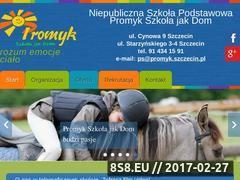 Miniaturka domeny szkolapromyk.szczecin.pl