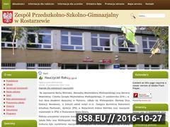 Miniaturka domeny szkolarostarzewo.pl