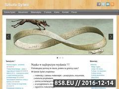 Miniaturka szkolasylwii.pl (Nauka matematyki w najlepszym wydaniu - Szkoła Sylwii)
