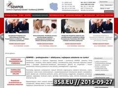 Miniaturka domeny www.szkolenia-semper.pl