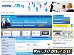 Miniaturka domeny www.szkoleniadlafirm.org