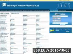 Miniaturka domeny www.szkolypolicealne.uczelnie.pl