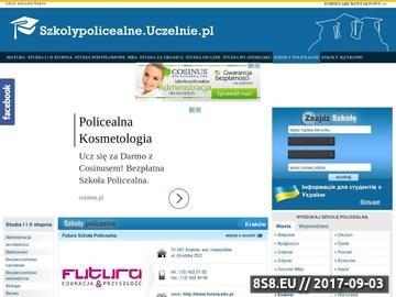 Zrzut strony Szkoły policealne Kraków