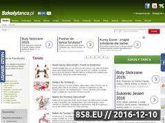Miniaturka domeny www.szkolytanca.pl