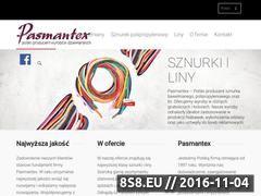 Miniaturka Sznurki bawełniane (sznurek.pasmantex.pl)